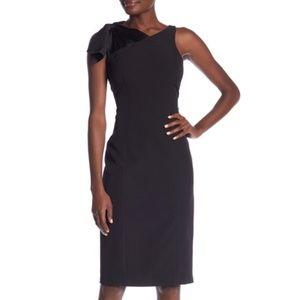 London Times Tie Shoulder Dress - 6